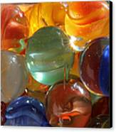 Glass In Glass 3 Canvas Print by Mary Bedy