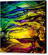 Glass Macro Abstract Rcy1 Canvas Print by David Patterson