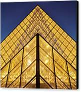 Glass Pyramid Canvas Print by Brian Jannsen