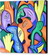 Glorify His Name Canvas Print by Anthony Falbo