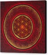 Glowing Canvas Print by Erik Grind