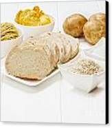 Glycemic Index High Gi Foods Canvas Print by Colin and Linda McKie