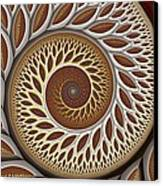 Glynn Spiral No. 2 Canvas Print by Mark Eggleston