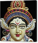 Goddess Durga Canvas Print by Sayali Mahajan