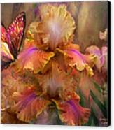 Goddess Of Sunrise Canvas Print by Carol Cavalaris