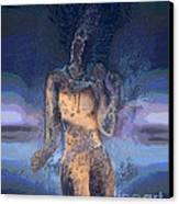 Goddess Canvas Print by Ursula Freer