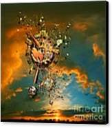 God's Dusk Canvas Print by Franziskus Pfleghart