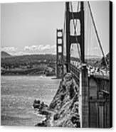 Going To San Francisco Canvas Print by Heather Applegate