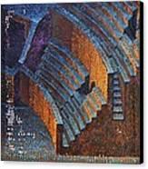 Gold Auditorium Canvas Print by Mark Howard Jones