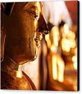 Gold Buddha At Wat Phrathat Doi Suthep Canvas Print by Metro DC Photography