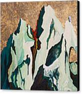 Gold Mountain Canvas Print by Joseph Demaree
