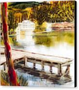 Golden Afternoon Canvas Print by Kip DeVore