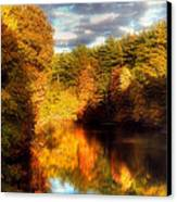 Golden Autumn Canvas Print by Joann Vitali