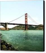 Golden Gate Bridge 2.0 Canvas Print by Michelle Calkins