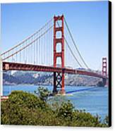 Golden Gate Bridge Canvas Print by Kelley King