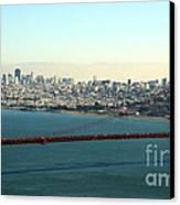 Golden Gate Bridge Canvas Print by Linda Woods