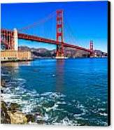 Golden Gate Bridge San Francisco Bay Canvas Print by Scott McGuire