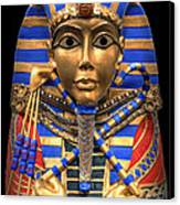 Golden Inner Sarcophagus Of A Pharaoh Canvas Print by Daniel Hagerman