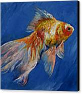 Goldfish Canvas Print by Michael Creese