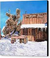 Goldpoint-nevada Canvas Print by Guido Borelli