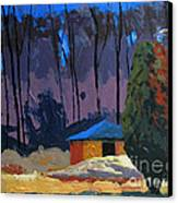 Golf Course Shed Series No.2 Canvas Print by Charlie Spear