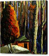 Golf  Shed Series No16 Canvas Print by Charlie Spear