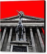 Goma Pop Art Red Canvas Print by John Farnan