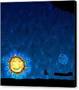 Good Night Sun Canvas Print by Gianfranco Weiss