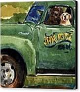 Good Ole Boys Canvas Print by Molly Poole