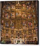 Gothic Altar Screen Canvas Print by Joan Carroll