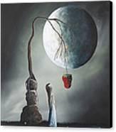 Gothic Fantasy Art By Shawna Erback So Tempting Canvas Print by Shawna Erback