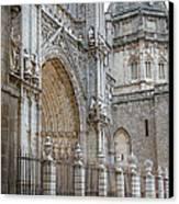 Gothic Splendor Of Spain Canvas Print by Joan Carroll