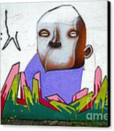 Graffiti Art Curitiba Brazil 17 Canvas Print by Bob Christopher