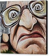 Graffiti Art Curitiba Brazil 22 Canvas Print by Bob Christopher
