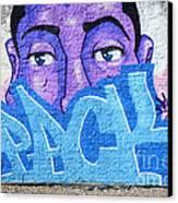 Graffiti Art Santa Catarina Island Brazil Canvas Print by Bob Christopher