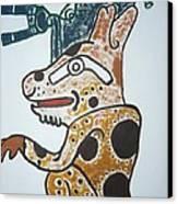 Gran Jaguar Iv Canvas Print by Juan Francisco Zeledon