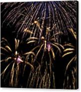 Grand Fireworks Canvas Print by Chandru Murugan