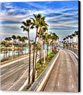 Grand Prix Of Long Beach Canvas Print by Heidi Smith