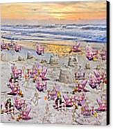 Grateful Holiday Canvas Print by Betsy C Knapp