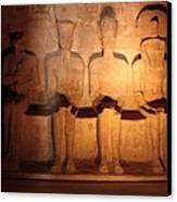 Great Gods Of Temple Canvas Print by Anze Polovsak