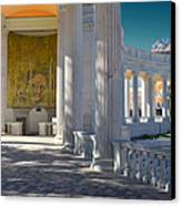 Greek Theatre 2 Canvas Print by Angelina Vick