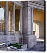 Greek Theatre 7 Canvas Print by Angelina Vick