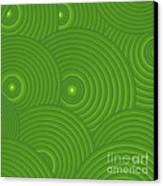 Green Abstract Canvas Print by Frank Tschakert
