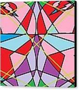 Green Diamond Canvas Print by Rachael McIntosh