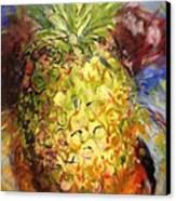 Green Heat  Canvas Print by Karen Carmean