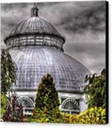 Greenhouse - The Observatory Canvas Print by Mike Savad