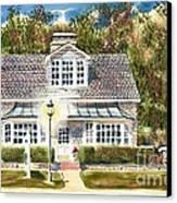 Greystone Inn II Canvas Print by Kip DeVore