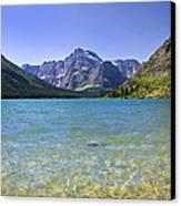 Grinnel Lake Glacier National Park Canvas Print by Rich Franco