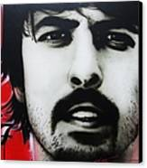 'grohl' Canvas Print by Christian Chapman Art
