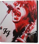 'grohl II' Canvas Print by Christian Chapman
